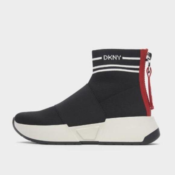 Nwt Dkny Marino Sock Sneaker Size 95